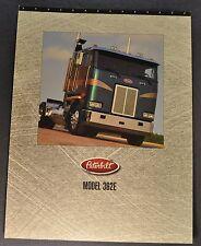 1996 Peterbilt 362E Truck Sales Brochure Sheet COE Excellent Original 96
