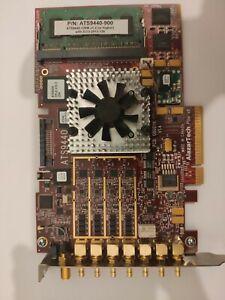 AlazarTech ATS9440 4-channel, 14-bit, 125 MS/s waveform digitizer based on the 8