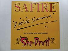 """MAXI 12"""" safire I will survive BO Film OST She Devil 876369"""