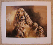 "MICK CAWSTON SIGNED LIMITED EDITION PRINT  ""MY TWO SONS"""