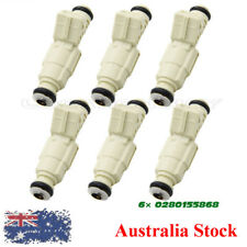 6PCS Fuel injectors For Holden Commodore Calais Supercharged VS VT VX VY V6 3.8L