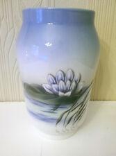Royal Copenhagen Denmark Waterlily Vase Excellent Condition 2669/108