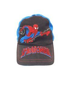 2006 Marvel The Amazing Spiderman Blue Baseball Hat Cap - Youth Adjustable