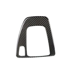 Car Carbon Fiber Gear Shift Panel Cover Trim Fit BMW 3 Series E90 E92 E93 05-12