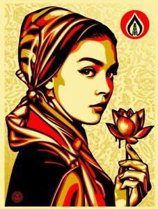 Obey Giant Shepard Fairey limited edition screenprint Natural Springs