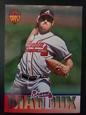 1994 Triple Play Atlanta Braves Baseball Card #46 Greg Maddux