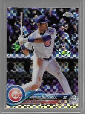 ADDISON RUSSELL CUBS CHROME REFRACTOR X-FRACTOR 2018 TOPPS CHROME NICE CARD!