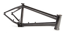 "S&M CREDENCE BLACK MAGIC FRAME METALLICA 21.5 MATTY AQUIZAP BMX BIKE 21.5"" CCR"