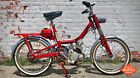 1950s vintage ABG moped VAP model classic red two stroke antique 50cc