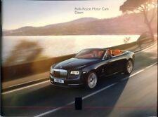 Rolls-Royce Dawn 2015 UK market sales brochure
