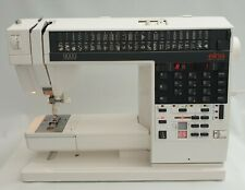Elna 9000 Sewing Machine Electronic Embroidery/ Letters/ Pictures + Accessories