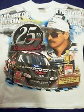 RARE Dale Earnhardt Sr. 25th Anniversary T-Shirt Commemorative Legend #3 LARGE