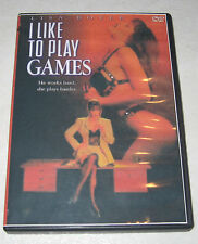 I Like to Play Games (1995) Lisa Boyle DVD RARE OOP