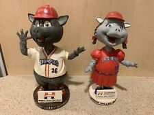 Lehigh Valley IronPigs Phillies Fefe & Ferrous 2008 Bobbleheads SGA, Preowned