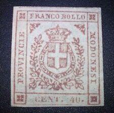 Modena 40 cent 1859 nuovo * con gomma