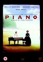 The Piano Holly Hunter Harvey Keitel Sam Neill Jane Campion GB Región 2 DVD New