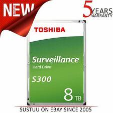 "Toshiba 8TB S300 Surveillance Internal Hard Drive Bulk│3.5""│Storage│7200 RPM│NEW"