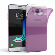 Ultra Slim Cover for Galaxy J5 (2016) Silicone cover Transparent Purple