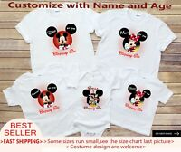 Minnie Mickey Mouse Birthday Shirts,Disney Family Shirts,Matching disney shirt