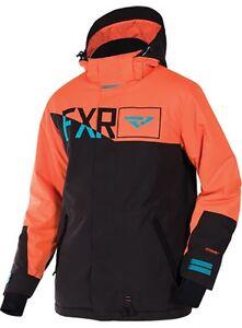 FXR MENS SQUADRON Cold Weather Snowmobile Snow JACKET COAT - Medium - NEW