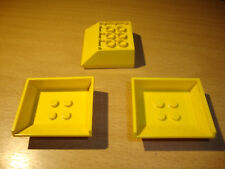 Lego Platte 1x8 Gelb 5 Stück 1235