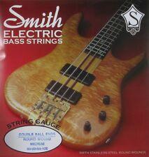 KEN SMITH DB-RWM DOUBLE BALL END BASS GUITAR STRINGS, MEDIUM GAUGE  4's - 44-106