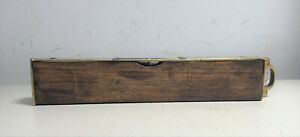 Rare Antique 8 inch Spirit Level described by Preston as the Best Plumb & Level