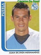 185 JUAN HERNANDEZ PUEBLA.FC MEXICO STICKER SUPERFUTBOL 2009 PANINI