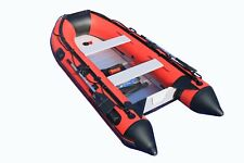 10.8 ft Inflatable Boat Raft Fishing Dinghy  Pontoon Boat WITH Aluminum FLOOR