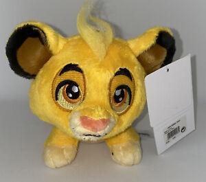 Plush Peluche MINI SIMBA Roi Lion  Disneyland Paris Disney