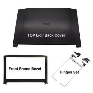 Acer Nitro 5 AN515-43 AN515-51 LCD Back Cover Black with Frame Bezel and Hinges