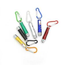 5 x Laser Pen Mini 3 in1 Keychain LED Torch & Red Laser Pointer Cat Pet Toy