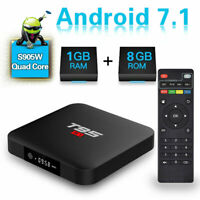TV Box T95 S1 Android 7.1 1GB+8GB Amlogic S905W Quad Core 3D 4K H.265 for Family