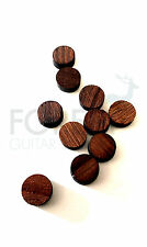 Indian rosewood fretboard inlay dot 6mm, set of 12