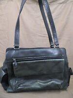 Fossil Shoulder Bag Purse Hobo Black Large Leather Dual Straps
