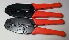 2 CRIMPER TOOL LMR 400 300 240 195 100 RG 213 214 8X Mini 8 58 174 Coax RF Cable