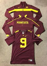 Lot Nike Minnesota Gophers Men's Sweatshirts & Football Jersey - Size Small