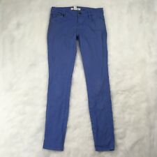 Life In Progress Blue Skinny Jegging Jeans Size 24 Casual Stretch Fit