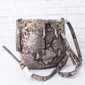 Michael Kors Ring Tote Crossbody Bag Purse Jet Set Leather Chain AUTHENTIC MK
