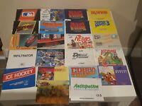 NES Instruction Manual Lot