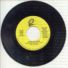 45 -  Susie Q Records - O.B. Buchana - Back Up Lover / It's Over