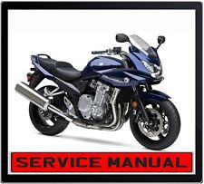 SUZUKI GSF1250S SA BANDIT 2005 ONWARD BIKE REPAIR SERVICE MANUAL IN DVD
