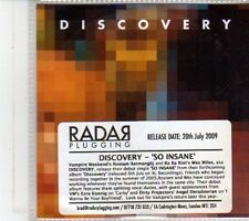 (DS180) Discovery, So Insane - 2009 DJ CD