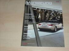 39641) Audi A5 Cabrio - Q5 -  Vorsprung durch Technik Magazin 01/2009