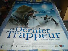 AFFICHE  NICOLAS VANIER / LE DERNIER TRAPPEUR