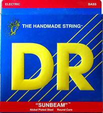 DR Strings Sunbeams NLR40 Nickel Lite Gauge Bass Strings