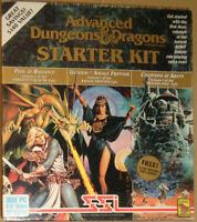 "Advanced Dungeons & Dragons Starter Kit, 1992. Complete, with 5 IBM 3.5"" disks"