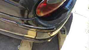 JAGUAR S TYPE 2000 2001 2002 2003 2004 LEFT REAR BUMPER MOLDING BLACK