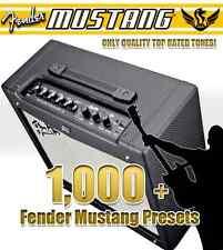 Fender Mustang Amp V1 & V2 - Amplifier Preset Patch Collection - Quality Tones!