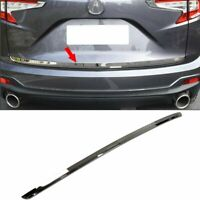 Fit for Acura New RDX 2019 2020 Rear Tail gate Door Trunk Lid Molding Cover Trim